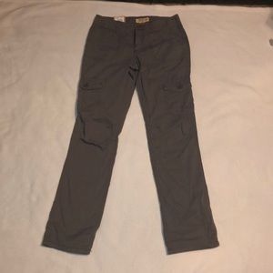 Mudd Girls Adjustable Roll Cuff Pants Gray 14